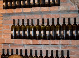 Some bottles of wine. , David C - January 2016