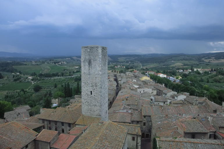 Stop 3 San Gimignano on the Tuscany in one day tour - Florence