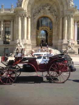 Outside the Grand Palais , Lindsey P - August 2013