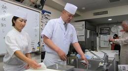 sushi chef teacher , Corinne B - October 2013