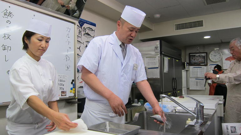 sushi chef teacher - Tokyo