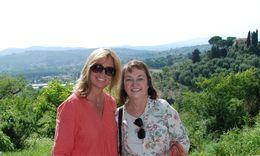 Break time overlooking tuscan hills , stanley y - June 2015