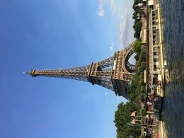 The Eiffel tower from the boat , Rick G - May 2017