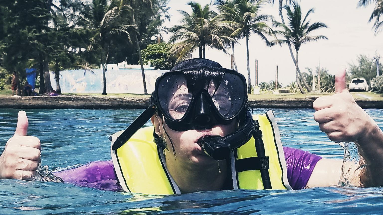 MAIS FOTOS, Mergulho com snorkel em San Juan de Puerto Rico