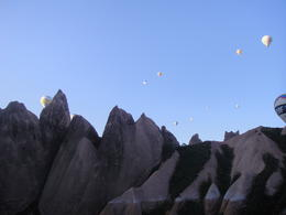 Cappadocia balloon ride, Blanca - January 2013