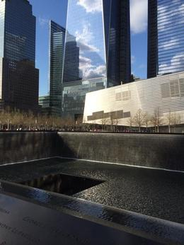 One of the many views of the 9/11 site, this was an amazing tour and will 100% do it again when we return to NY , Jade - May 2014