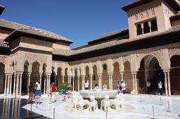 Lions courtyard, SCV - December 2012