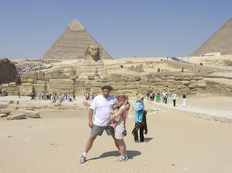 BY THE SPHINX - Cairo