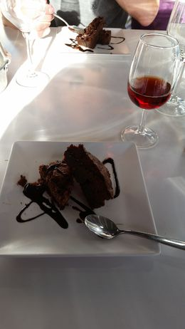 You really can't go wrong with chocolate... I was really excited when dessert came out! , Alison N - April 2015
