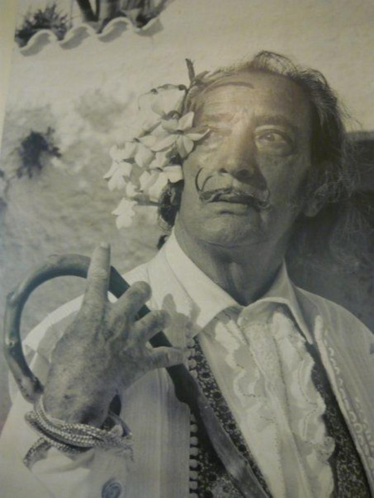 Dali photo - Barcelona