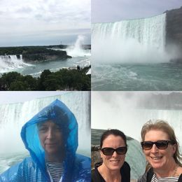 On board the Maid of the Mist USA side. , Jennifer M - July 2016