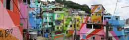 Panoramic view of the favelas - May 2013