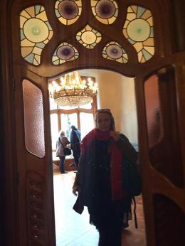 standing in the doorway, my mind spinning with the wonders of Gaudi. , Rosemary R - January 2014