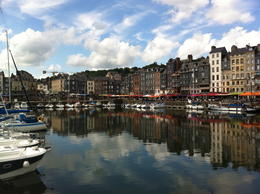 This is the harbor in Honfleur where we stopped to eat lunch , Tim T - June 2013