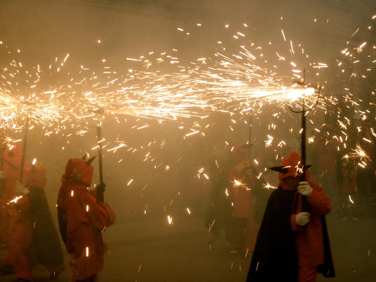 Experience Catalonia: Correfoc Fire Running Festival Experience from Barcelona photo 14