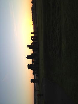Stonehenge at daybreak , Rick S - September 2012