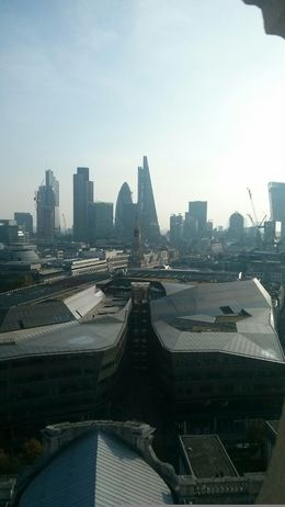 The view from the dome in St Paul's Cathedral, Giulia T - October 2015