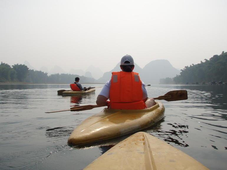 Kayaking on Li - Yangshuo
