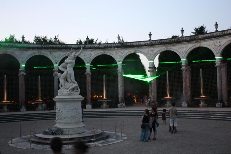 Laser show - Versailles