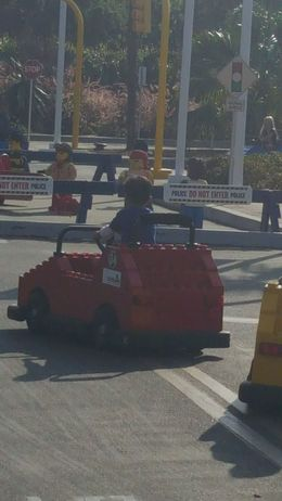 Driving School at Legoland!, JessM - October 2015