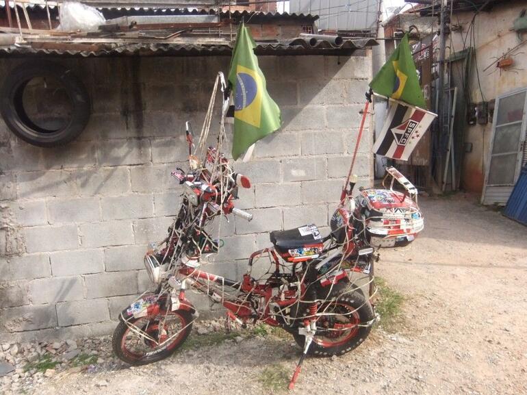 Motorbike Favelas - São Paulo