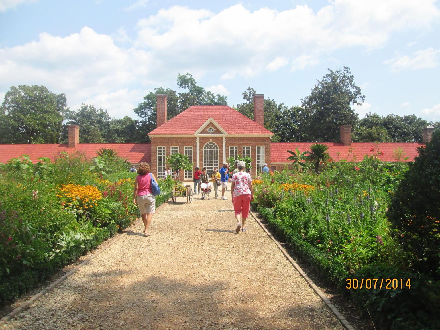 Mount Vernon botanic garden