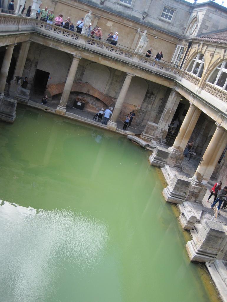 Roman Baths in Bath - London