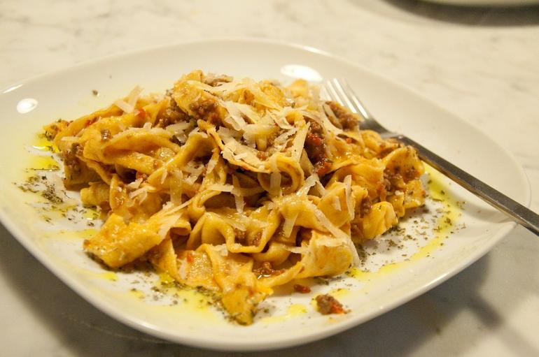 The best pasta I have ever had! - Florence