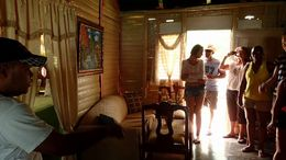 We got a guided tour around the inside of the nice house of the plantation owner. , Allan - September 2015