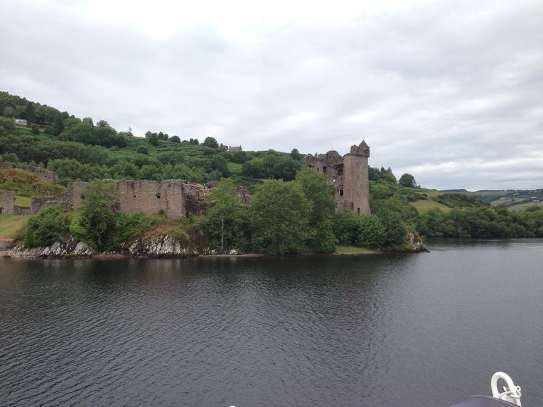 Urquhart Castle from Loch Ness - Scotland