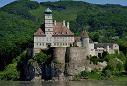 Some castle viewed from the river boat tour. , JohnOfNaper1 - August 2015