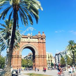 Arc de Triomf , Zandy - September 2016