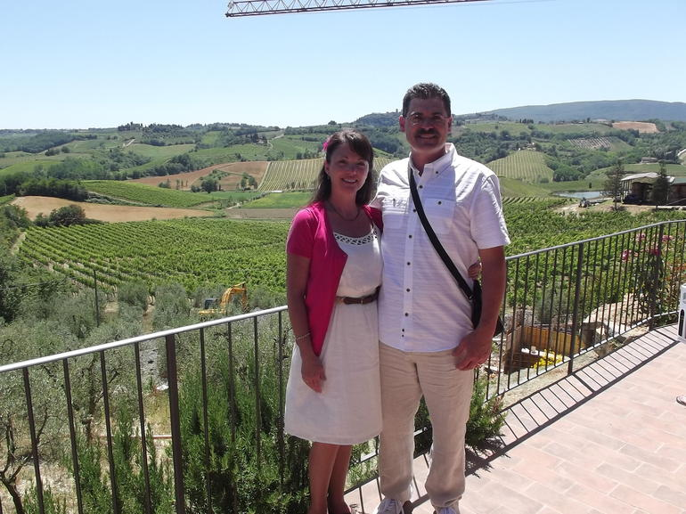 At the organic farm - Florence