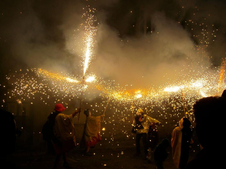 Experience Catalonia: Correfoc Fire Running Festival Experience from Barcelona photo 13