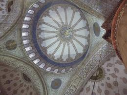 The ceiling of the Blue Mosque. , librazone - May 2014
