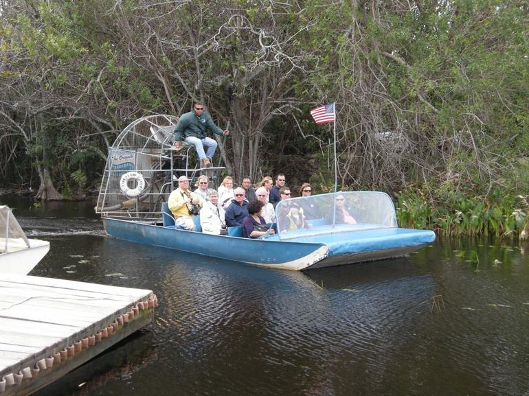 Everglades - airboat ride - Miami