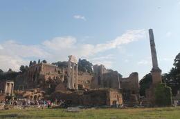 foro romano view , Lauren C - October 2014