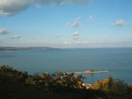Lake Balaton: view from high up!, Anthi M - November 2009