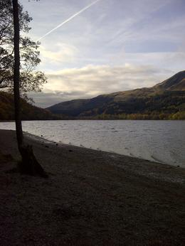 Breath taking view at Loch Lubnaig, on route to Glencoe , Caroline - October 2012