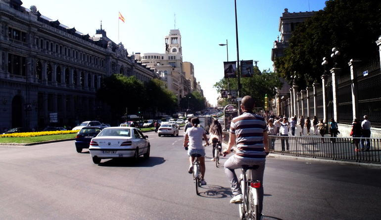madrid bike tour - Madrid
