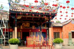 Temple in Penang City Centre , Peter T - May 2011