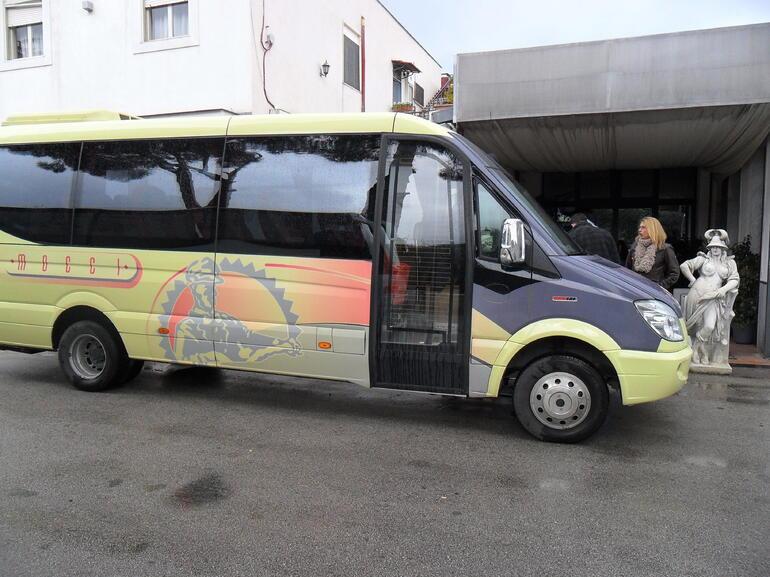 Mini-Coach Bus - Rome