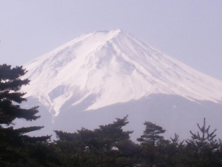 Mt Fuji approach - Tokyo