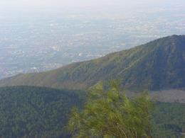 View from summit of Mt. Vesuvius. - November 2007