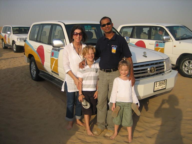 On the Dubai 4x4 desert safari - Dubai