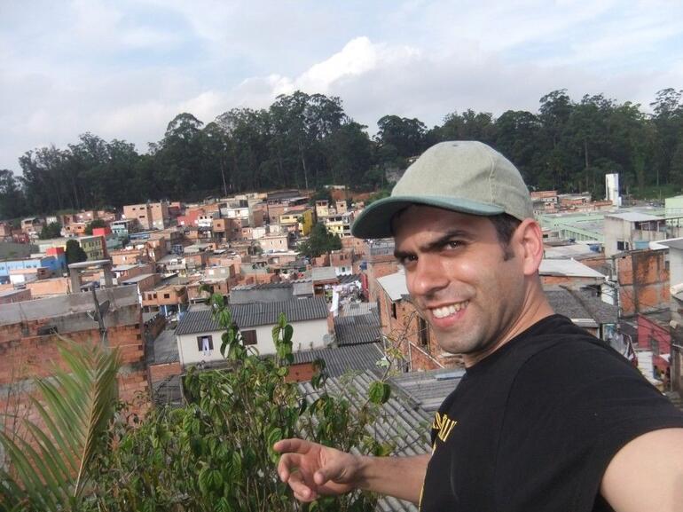On the top of Estevao Gaudi House - São Paulo