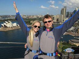 On top of the Sydney Harbour Bridge , Martin J - August 2015