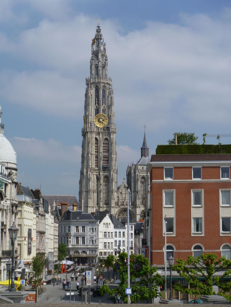 Plaza Central de Amberes - Brussels