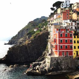 I took this photo after the boat ride from Monterosso to Riomaggiore. Simply gorgeous. , Korbin D - July 2015