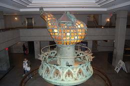 The original torch, now on display inside. , Robert K - October 2015